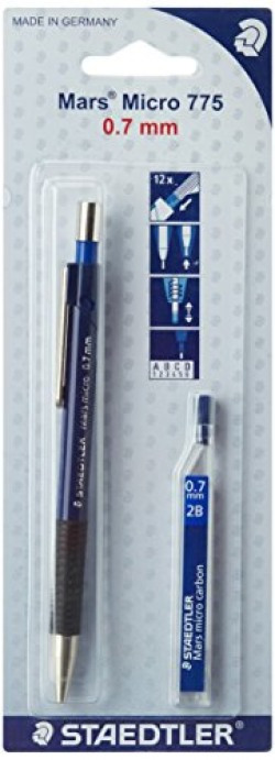 Staedtler Mars Micro 775 Mechanical Pencil Lead with Lead Tube - 0.7mm