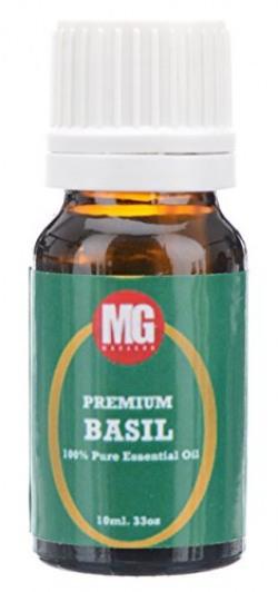 Basil Essential Oil | 100% Pure & Therapeutic Grade | MahaGro | 10ml