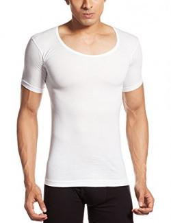 Euro Men's Cotton Vest (890397840096) (BASIC VST(W)RNS White 75)