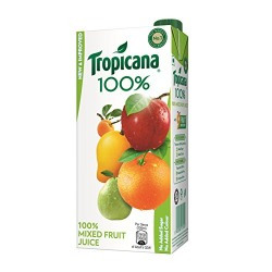 Tropicana Mixed Fruit 100% Juice, 1 ltr