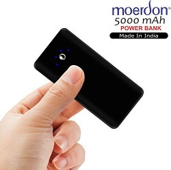 MOERDON Power Bank 5000mAh Mobile Charger for all Smartphone and Android
