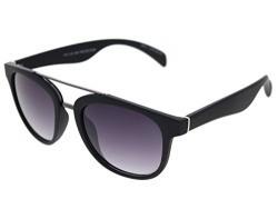 Vast UV Protection Unisex Wayfarer Sunglasses (TOPBARBKGR 52 Grey Lens )...