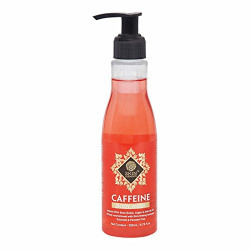 Caffeine Body Wash by Skin Elements (200 mL) with Shea Butter, Almond & Argan Oil, Sulphate and Paraben Free