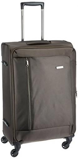 Eminent Zephyr Nylon 58 cms Brown Softsided Carry-On (6855 - PP)