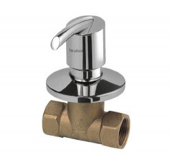 Hindware Tarrot 15mm Concealed Stop Cock with Adjustable Wall Flange (Chrome)
