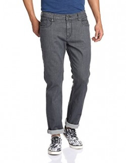 Symbol Men's Relaxed Fit Jeans (952922_32W x 33L_Medium Grey)