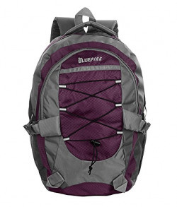 Dussledorf Tom Purple Casual Backpack With Adjuatable Strap And Laptop Compartment (TOM-06)