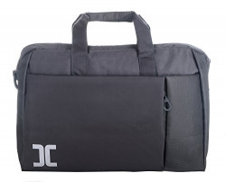 The Blue Pink Polyester 15 Litres Grey Laptop Bag