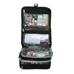 Kuber Industriestm Waterproof Make Up Toiletry Bag-Ki3282- Black
