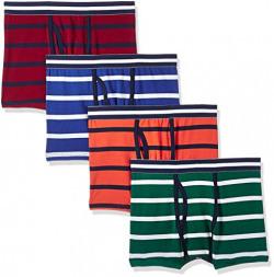 Marks & Spencer Boys' Regular Fit Cotton Brief(T715481DORANGE MIX11-12)