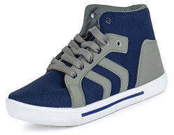 Ethics Perfect Men's Grey Sneaker Shoes (8)