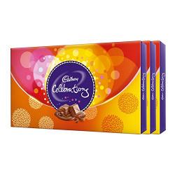 Cadbury Assorted Celebration, 177.8g (Pack of 3)