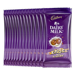 Cadbury Dairy Milk Shots, 16.2g (Pack of 40)