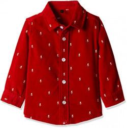 United Colors of Benetton Boys' Shirt (16A5SHRTC040IK46EL_Red)