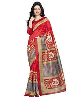 Divyaemporio Cotton Silk Saree (Nbg-17_Red)