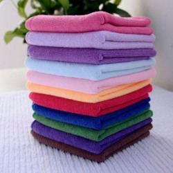 Cotton Face Towels Set of 12