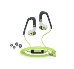 Sennheiser OCX 686G Sports Ear-Canal Ear Hook Headset (Grey/Green)