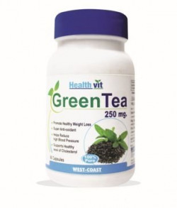 Healthvit Green Tea Powder 250 mg - 60 Capsules