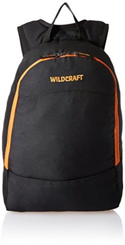 Wildcraft Black Casual Backpack (11049_Black_Backpacks & Cases)