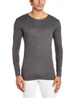 Chromozome Men's Cotton T-Shirt (8902733332750_Th01_charcoal_M)