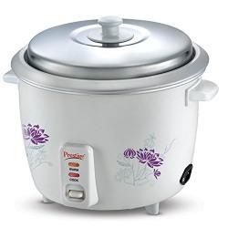 Prestige PROO 1.8-2 700-Watt Electric Rice Cooker (White)