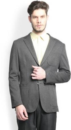 Blackberrys Printed Single Breasted Casual Men's Blazer
