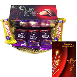 Diwali gift Hamper with Card