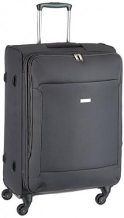 Eminent Prolite Polyester 69 cms Grey Softsided Suitcase (6853 - GR)