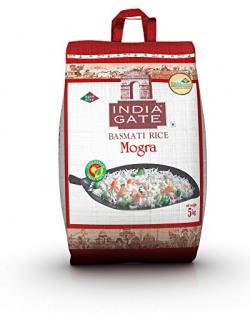 India Gate Basmati Rice Bag, Mogra, 5kg