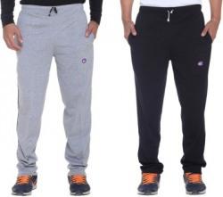 Vimal Solid Men's Grey, Black Track Pants