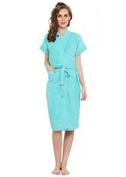FeelBlue Bathrobe For Women (Sea Green)