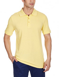 Puma Men's Polo Shirt (4055263935145_83695705_Large_Lemon Drop)