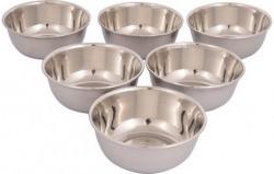 Classic Essentials stainless steel veg bowl set of 6pcs