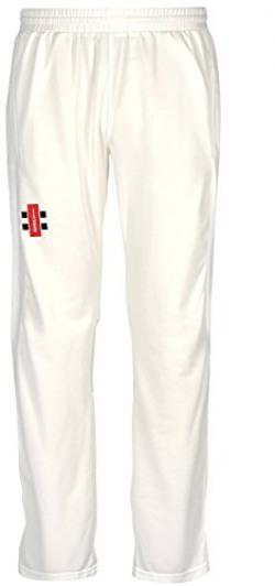 Gray Nicolls Velocity Cricket Trouser, Medium (White)