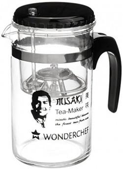 Wonderchef Misaki Glass Tea Maker, 8cm, 300 ml