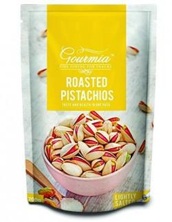 Gourmia Roasted Pistachios, Lightly Salted, 200g