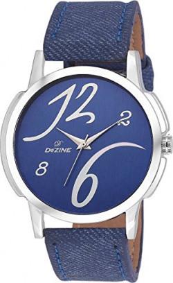 Dezine Analogue Blue Dial Men's Watch -DZ-GR002-BLU-BLK