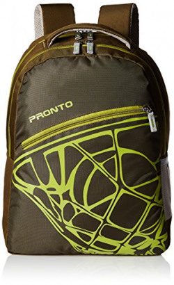 Pronto Volcano 20 Ltrs Olive Casual Backpack (8804 - OL)