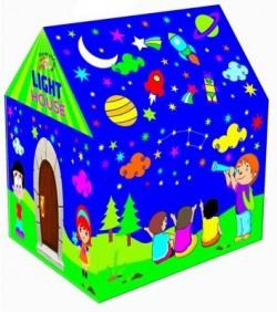Wave Mart LED Light Tent Play House Kids