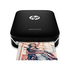 HP Sprocket Z3Z92A Photo Printer (Black)