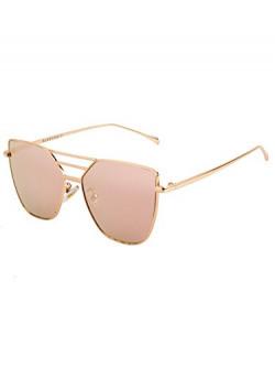 Farenheit Square Sunglasses  FA-731-Golden-Pink 