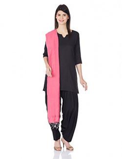 W for Woman Dupatta (15AU80481-11449_Pink)