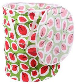 Miamour Polycotton Laundry Bag, 20 Litres, Random Color & Pattern