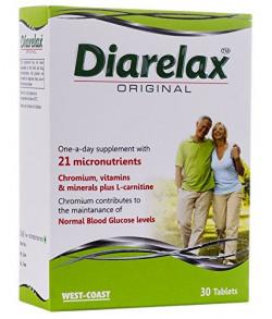 West Coast Diarelax Orginial Diabetes Nutrition - 30 Tablets