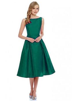 New Seller - Vastra Villa Women's Taffeta Silk Dress Material