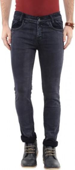 Mufti Skinny Men's Black Jeans