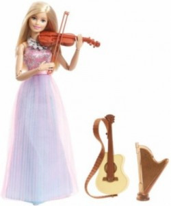 Barbie Doll and Instruments