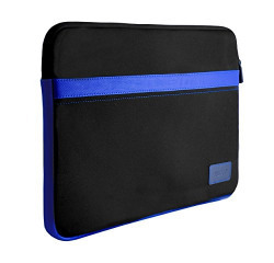 Credo Laptop Sleeve Case Cover For MacBook Air 13  Pro 13  13 inch Sleeve Slipcase Laptop Notebook Surface Pro 4 13.3 inches (Black & Blue)