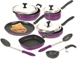 Crystal Silver Series Cookware Set