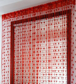 Gift Palace Net Red Embroidered Eyelet Door Curtain